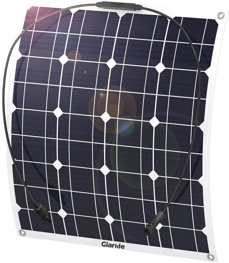 50W 18V 12V Solar Panel Monocristalino Célula Placa Solar Flexible