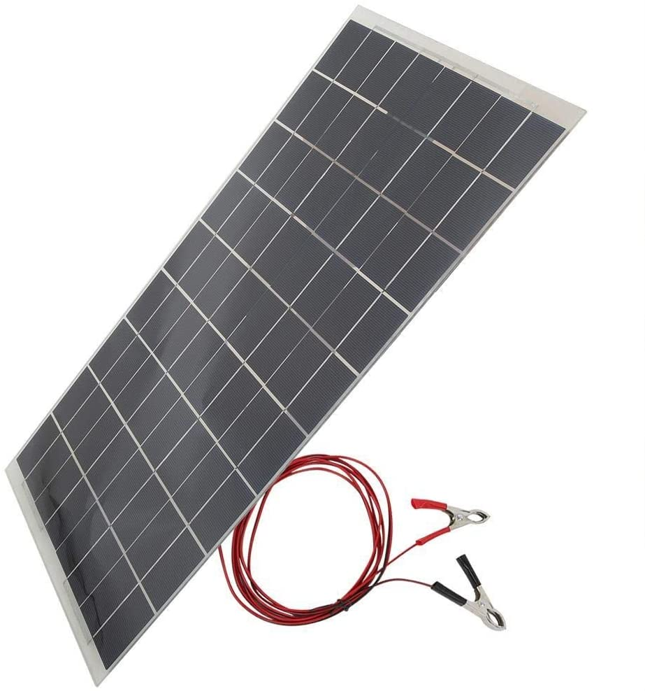 Placa fotovoltaica Rockyin 30W 12V Semi Dispositivo Solar Flexible