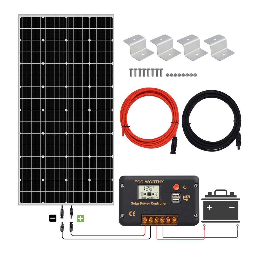 Kit solar fotovoltaico autoconsumo 12 v 150w