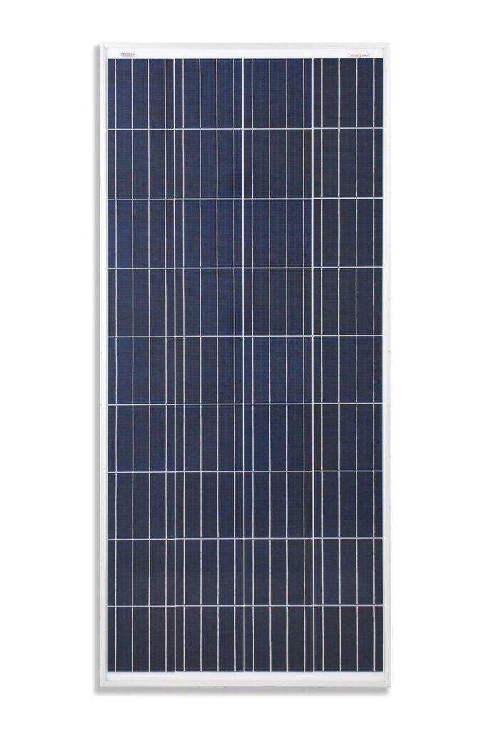 panel solar Poly 160 W ideal para sistema de 12 V fotovoltaica